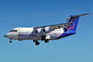 Avro RJ 85 - Brussels Airlines (OO-DJX)