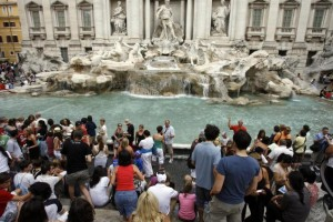 Trevi Fountain. Fot.: AP
