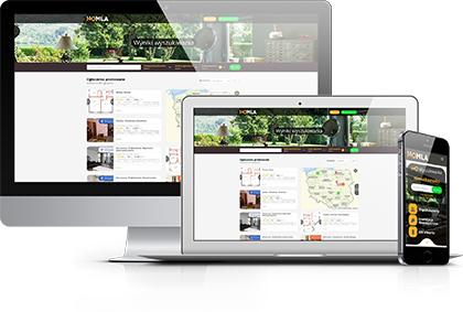 homla pl - dostępna na komputerach i na urządzeniach mobilnych jak tablet czy smartfon