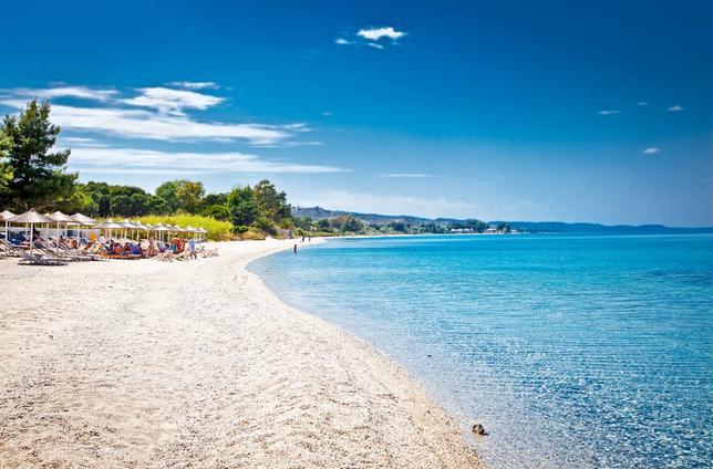 Pefkochori - grecka plaża
